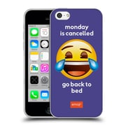 Official Emoji Speak Monday Is Cancelled Soft Gel Case For Apple Iphone 5C