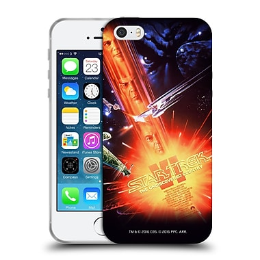 Official Star Trek Movie Posters Tos The Undiscovered Country Soft Gel Case For Apple Iphone 5 / 5S / Se