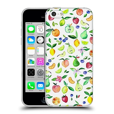 Official Micklyn Le Feuvre Summer Patterns Fresh Fruit Watercolour Soft Gel Case For Apple Iphone 5C