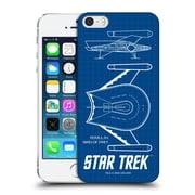 Official Star Trek Ships Of The Line Tos Romulan Bird Of Prey Hard Back Case For Apple Iphone 5 / 5S / Se