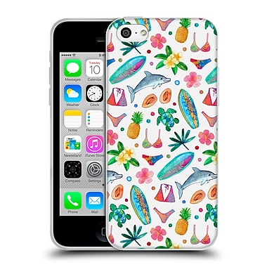 Official Micklyn Le Feuvre Summer Patterns Dotty Summer Beach Soft Gel Case For Apple Iphone 5C