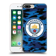 Official Manchester City Man City Fc Badge Camou Dark Blue Moon Hard Back Case For Apple Iphone 7 Plus