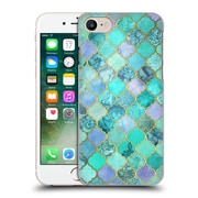 Official Micklyn Le Feuvre Moroccan Mint Green Hard Back Case For Apple Iphone 7