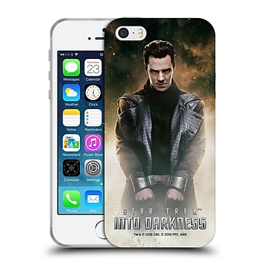Official Star Trek Magazine Covers Into Darkness Xii Khan Soft Gel Case For Apple Iphone 5 / 5S / Se