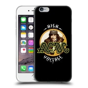 Official Ac/Dc Acdc Song Titles High Voltage Soft Gel Case For Apple Iphone 6 / 6S