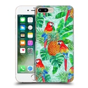 Official Micklyn Le Feuvre Summer Patterns Pineapples And Parrots Tropical Summer Hard Back Case For Apple Iphone 7 Plus