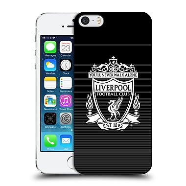 Official Liverpool Football Club Crest Designs White Third Hard Back Case For Apple Iphone 5 / 5S / Se
