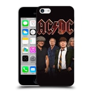 Official Ac/Dc Acdc Group Photo Crew Studio Shot Hard Back Case For Apple Iphone 5C