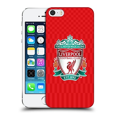 Official Liverpool Football Club Crest Designs Full Colour Home Hard Back Case For Apple Iphone 5 / 5S / Se