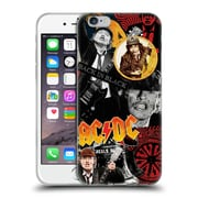 Official Ac/Dc Acdc Collage Angus Young Soft Gel Case For Apple Iphone 6 / 6S