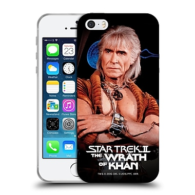 Official Star Trek Khan Tos Wrath Soft Gel Case For Apple Iphone 5 / 5S / Se