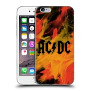 Official Ac/Dc Acdc Logo Flame Soft Gel Case For Apple Iphone 6 / 6S