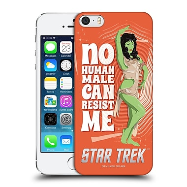 Official Star Trek Embossed Iconic Characters Tos Orion Female Hard Back Case For Apple Iphone 5 / 5S / Se