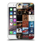 Official Ac/Dc Acdc Collage Album Covers Soft Gel Case For Apple Iphone 6 / 6S