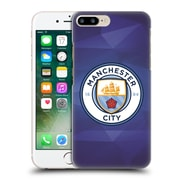 Official Manchester City Man City Fc Badge Geometric Obsidian Full Colour Hard Back Case For Apple Iphone 7 Plus
