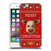 Official Emoji Ugly Christmas Reindeer Soft Gel Case For Apple Iphone 6 / 6S