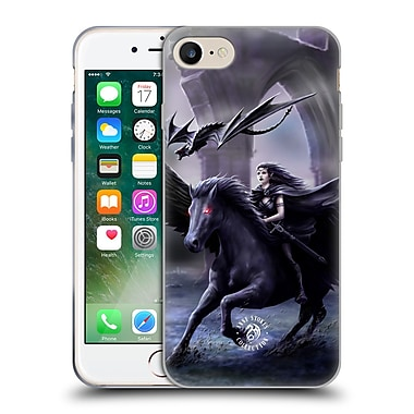Official Anne Stokes Mythical Creatures Real Of Darkness Soft Gel Case For Apple Iphone 7