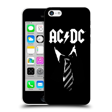 Official Ac/Dc Acdc Iconic Necktie Hard Back Case For Apple Iphone 5C