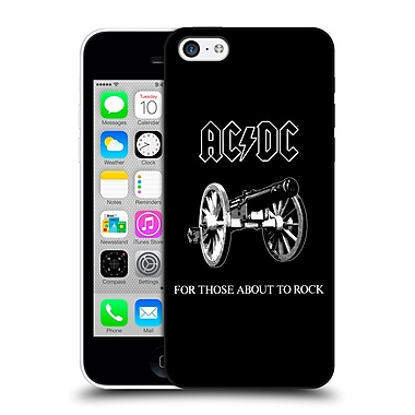 Official Ac/Dc Acdc Song Titles For Those About To Rock Hard Back Case For Apple Iphone 5C