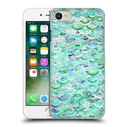 Official Micklyn Le Feuvre Marble Patterns Mosaic In Mint Quartz And Jade Hard Back Case For Apple Iphone 7