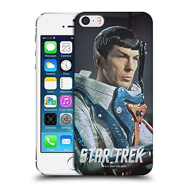 Official Star Trek Embossed Spock Space Suit Hard Back Case For Apple Iphone 5 / 5S / Se