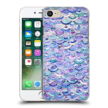 Official Micklyn Le Feuvre Marble Patterns Mosaic In Amethyst And Lapis Lazuli Hard Back Case For Apple Iphone 7