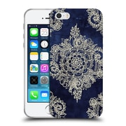 Official Micklyn Le Feuvre Doodle Patterns Cream Floral Moroccan Soft Gel Case For Apple Iphone 5 / 5S / Se