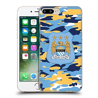 Official Manchester City Man City Fc Camou Club Full Colour Hard Back Case For Apple Iphone 7 Plus