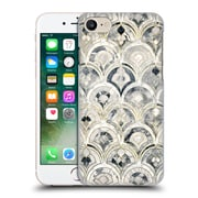 Official Micklyn Le Feuvre Marble Patterns Monochrome Art Deco Tiles Hard Back Case For Apple Iphone 7