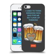 Official Emoji Oktoberfest Drinking Soft Gel Case For Apple Iphone 5 / 5S / Se