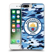 Official Manchester City Man City Fc Badge Camou Blue Moon Hard Back Case For Apple Iphone 7 Plus