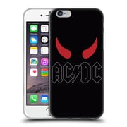 Official Ac/Dc Acdc Logo Horns Soft Gel Case For Apple Iphone 6 / 6S