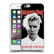 Official Justin Bieber Tour Merchandise Purpose Poster Soft Gel Case For Apple Iphone 6 / 6S