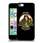 Official Ac/Dc Acdc Song Titles High Voltage Hard Back Case For Apple Iphone 5C