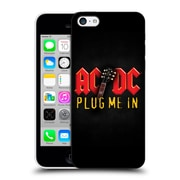 Official Ac/Dc Acdc Song Titles Plug Me In Hard Back Case For Apple Iphone 5C