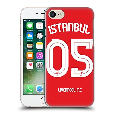 Official Liverpool Football Club Redmen Istanbul Hard Back Case For Apple Iphone 7
