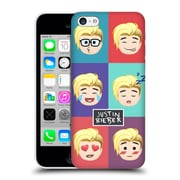 Official Justin Bieber Justmojis Cute Faces Hard Back Case For Apple Iphone 5C