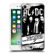 Official Ac/Dc Acdc Lyrics Rock Or Bust Hard Back Case For Apple Iphone 7