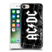 Official Ac/Dc Acdc Logo White Grunge Hard Back Case For Apple Iphone 7