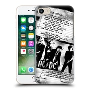 Official Ac/Dc Acdc Lyrics Play Ball Hard Back Case For Apple Iphone 7
