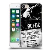 Official Ac/Dc Acdc Lyrics We Rock It And We Roll It Hard Back Case For Apple Iphone 7