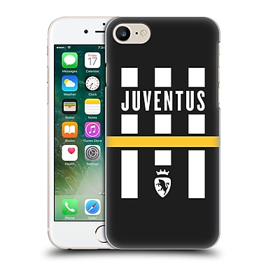 Official Juventus Football Club Lifestyle Logo Explosion Black Hard Back Case For Apple Iphone 7