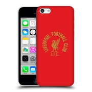 Official Liverpool Football Club Liver Bird Gold Lfc On Red Hard Back Case For Apple Iphone 5C