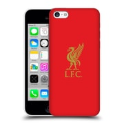 Official Liverpool Football Club Liver Bird Gold Logo On Red Hard Back Case For Apple Iphone 5C