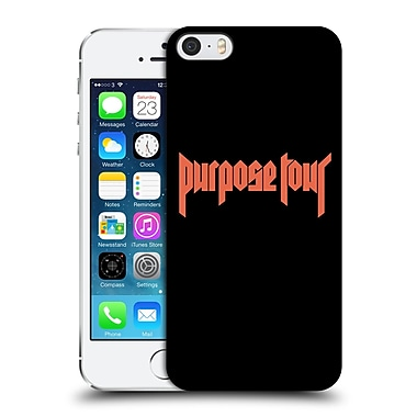 Official Justin Bieber Tour Merchandise Logo Hard Back Case For Apple Iphone 5 / 5S / Se