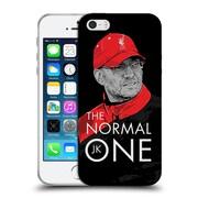 Official Liverpool Football Club Jurgen Klopp Training Black Soft Gel Case For Apple Iphone 5 / 5S / Se