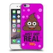 Official Emoji Flat Poop Soft Gel Case For Apple Iphone 6 / 6S