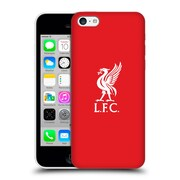 Official Liverpool Football Club Liver Bird White Logo In Red Hard Back Case For Apple Iphone 5C