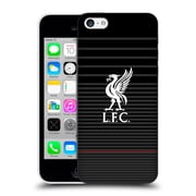 Official Liverpool Football Club Liver Bird White On Black Kit Hard Back Case For Apple Iphone 5C