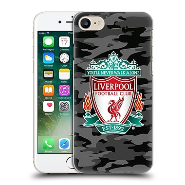 Official Liverpool Football Club Camou Away Colourways Crest Hard Back Case For Apple Iphone 7